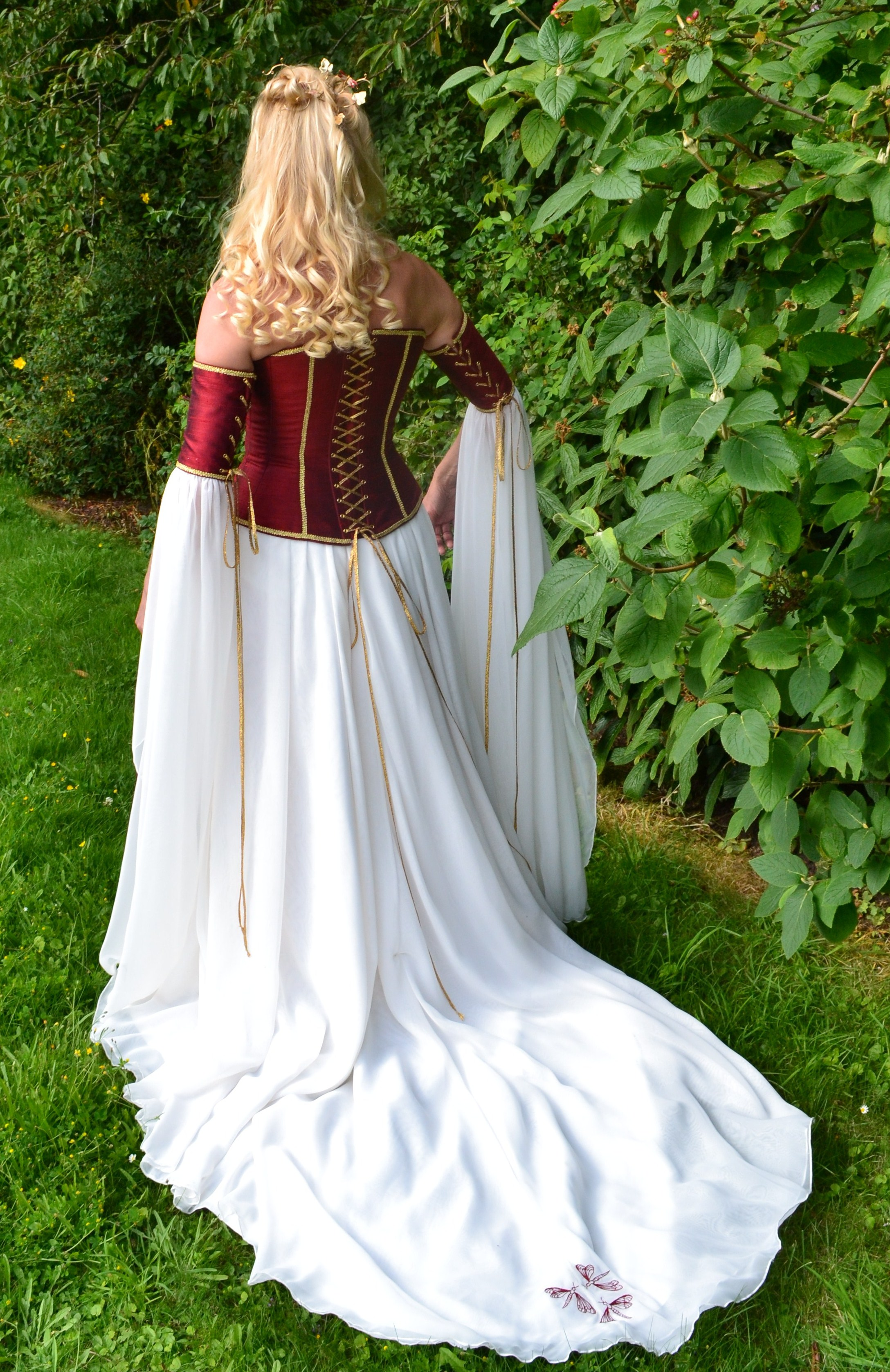 Fantasy wedding dresses alternabrides for Renaissance inspired wedding dress
